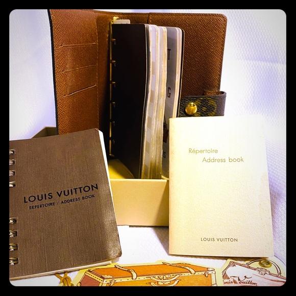 Louis Vuitton Other - Authentic Louis Vuitton Agenda & Address Books